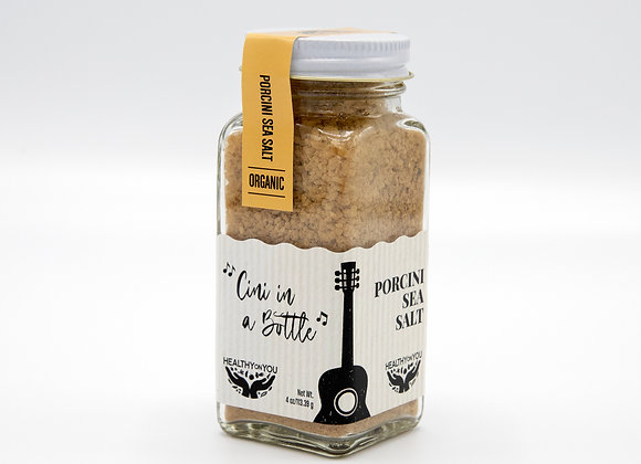 Cini in a Bottle / Porcini Mushroom Salt - by Healthy on You