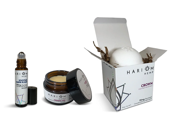 Topical Gift Set Bundle - by Hari Om Hemp