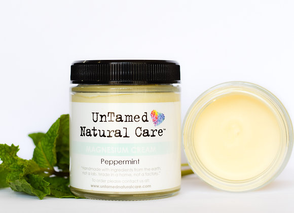 Peppermint Magnesium Cream - by Untamed Natural Care