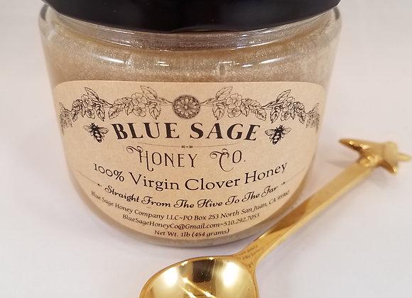 100% VIRGIN Clover Honey - by Blue Sage Honey Company LLC