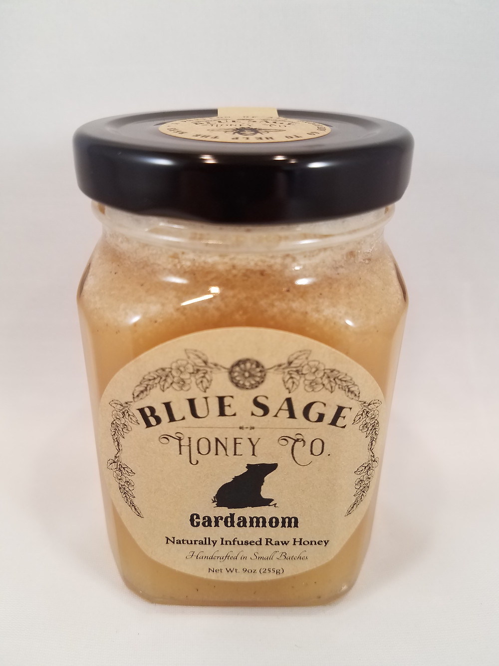 Cardamom Infused Raw Honey