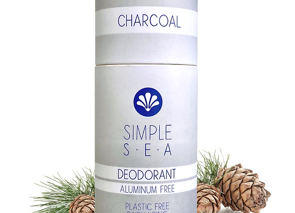 Charcoal All Natural Deodorant - by Simple Sea
