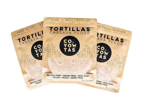 Cassava Grain-free Tortillas (3 Pack) - by Eat Coyotas