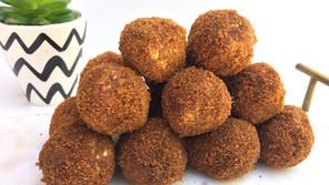 Sweet Potato Churro Balls