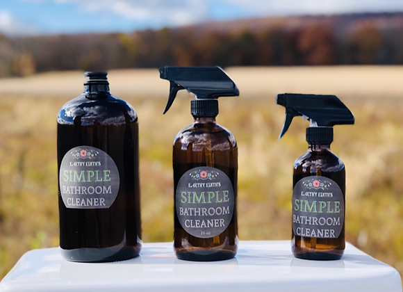 Simple Bathroom Cleaner - by Earthy Edith's