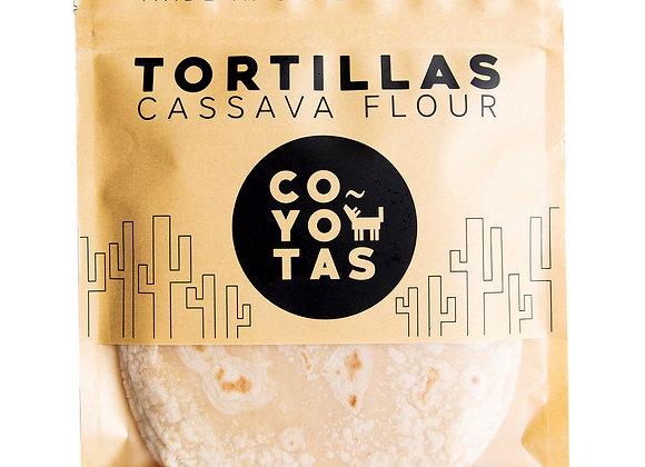 Cassava Grain-free Tortillas - by Eat Coyotas