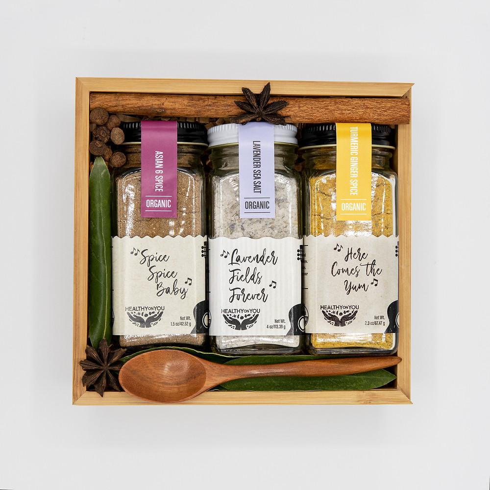 Sweet Harmonies Spice Box