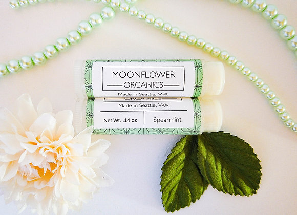 Spearmint Chapstick - by Moonflower Organics
