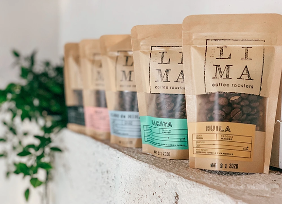 Coffee Blend Sample Pack - by Lima Coffee Roasters