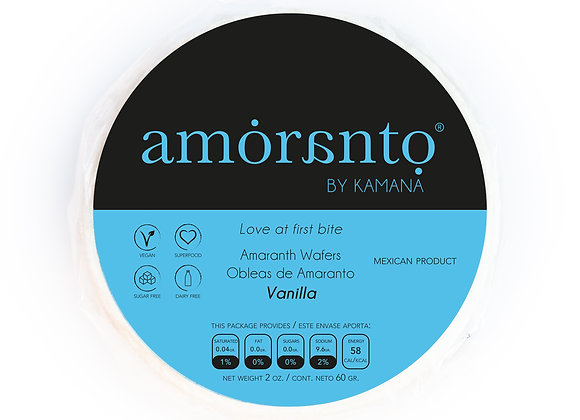 Vanilla Wafers - by Amoranto Snacks