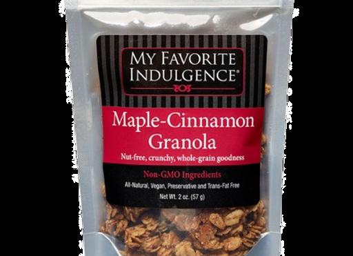 Maple Cinnamon Nut-Free Granola - by My Favorite Indulgence