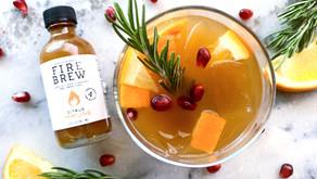 Orange Pomegranate Wellness Mocktail