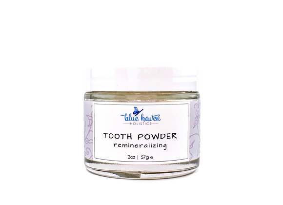 Remineralizing Tooth Powder - by Blue Haven Holistics