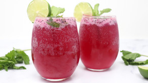 Dragon Fruit Mojito Mocktails