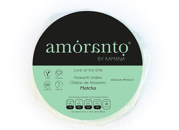 Matcha Wafers - by Amoranto Snacks