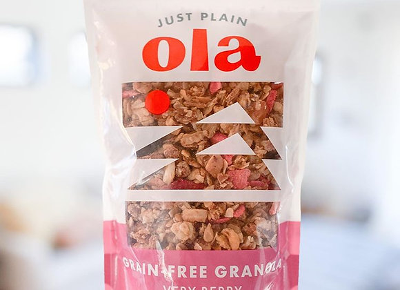 Very Berry Grain-Free Granola - by Just Plain 'Ola