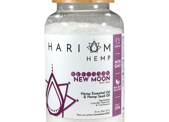 New Moon Bath Soak - by Hari Om Hemp