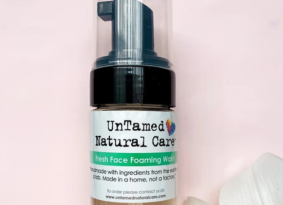 Fresh Face Foaming Wash - by Untamed Natural Care