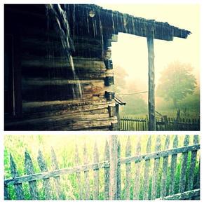 Beautiful rain at Hensley