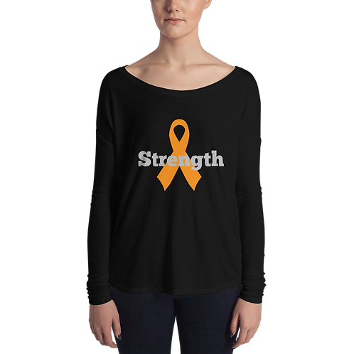 Awareness Ribbon Long Sleeve Raglan