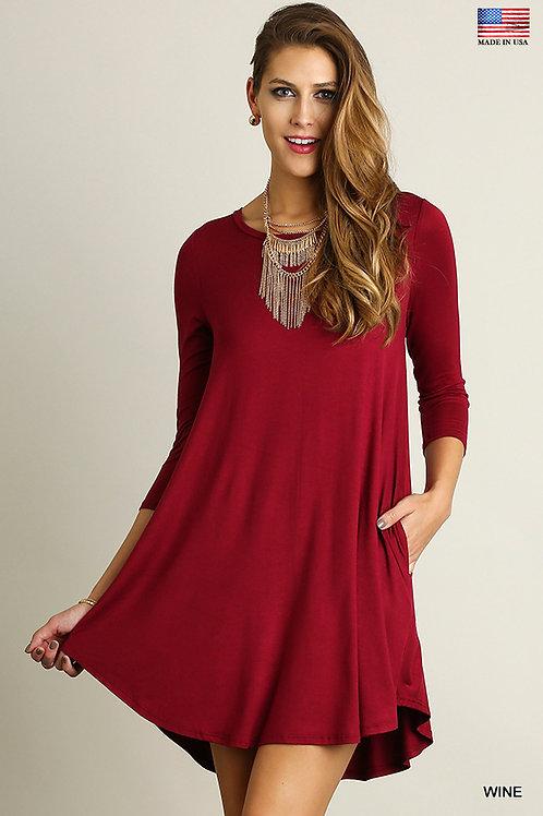 Pocket Tee/Dress