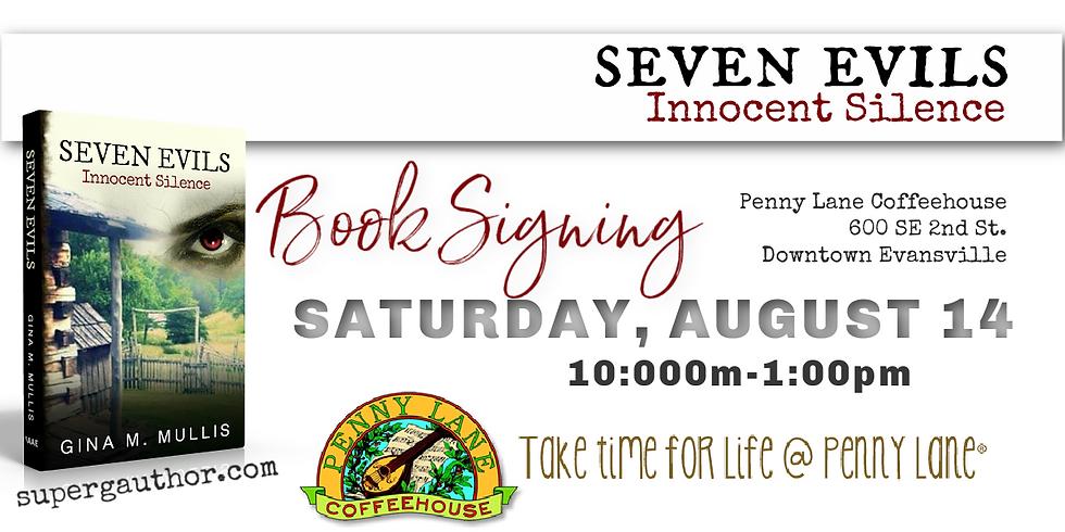 Seven Evils Book Signing-Penny Lane