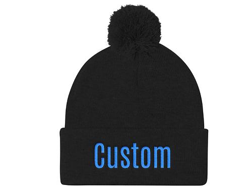 Custom Pom Beanie