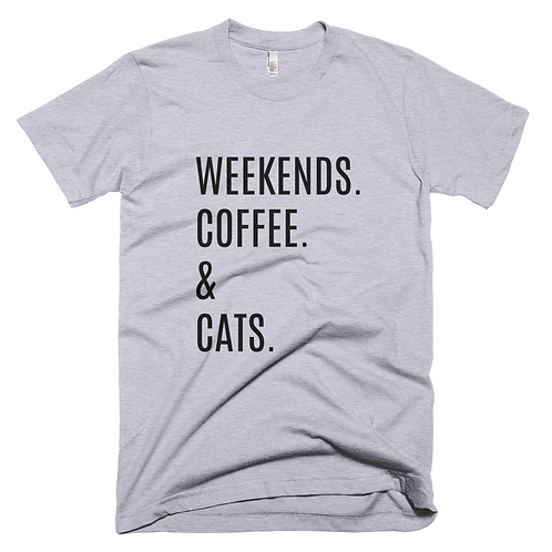 Weekends, Coffee,Cats