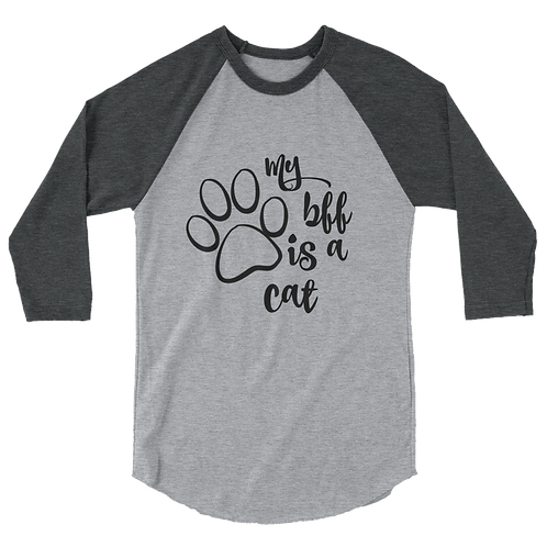 Dog/Cat baseball tee