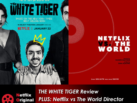 The NOMCAST - The White Tiger Review + Netflix vs the World Director Shawn Cauthen