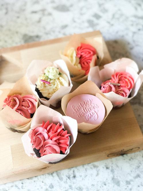 Mothers day cupcake set