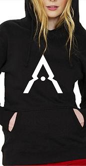 Andrumeda Womens Hoodie