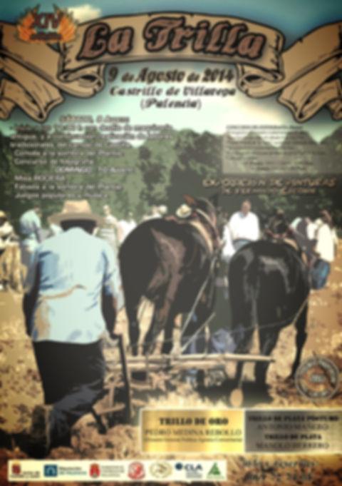 Fiesta de la Trilla 2014 cartel