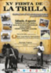 Fiesta de la Trilla 2015 cartel