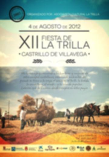 fiesta de la trilla 2012 en Castrillo de Villavega, Palencia