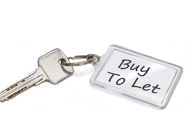 Buy to let keyring and key