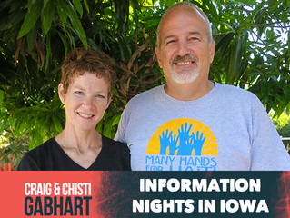 Craig & Christi Information Nights