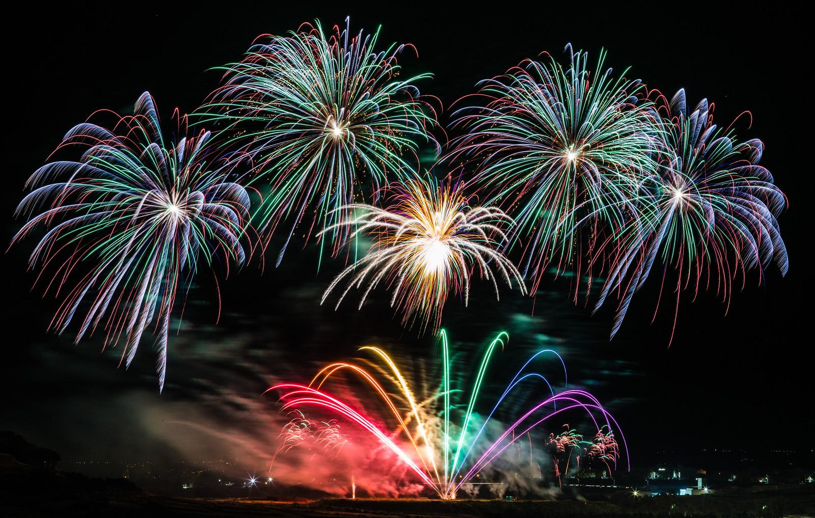 Image result for fireworks malta