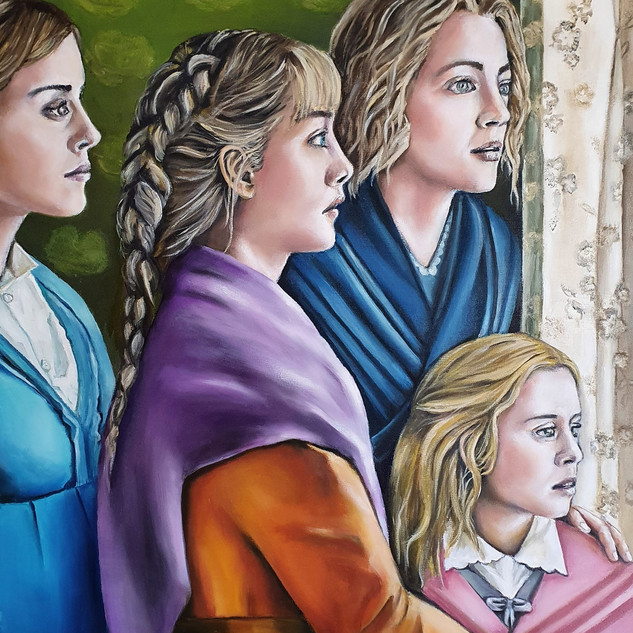 Little Women 70x80 cm