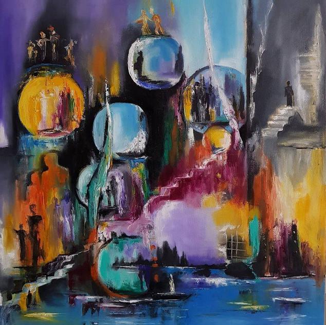 ''Roads of the Soul 2'' 70x80 cm