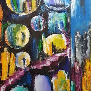 ''Roads of the Soul 3'' 40x80 cm
