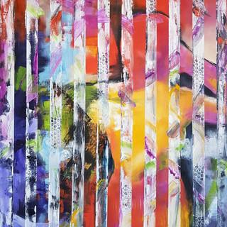 '' hidden thoughts'' 70x80 cm