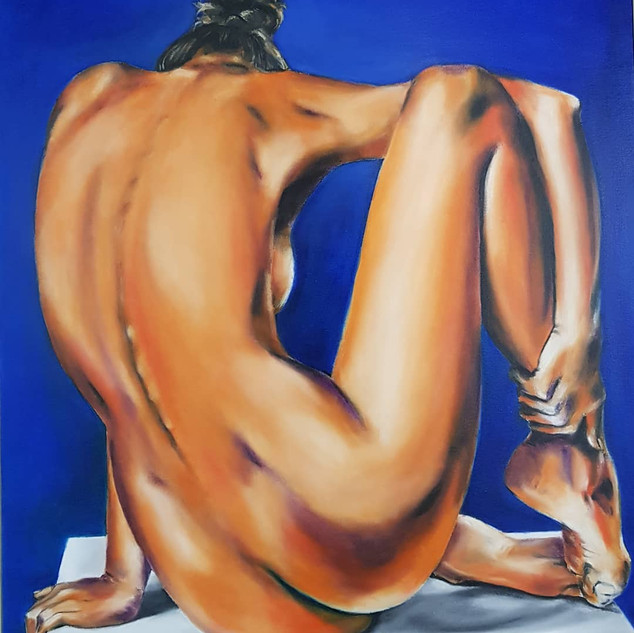 ''A Woman's Moment''80x100cm