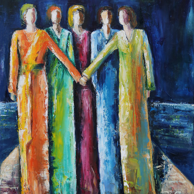 ''WOMEN'S SOLIDARITY'' 40 X 50 cm high r