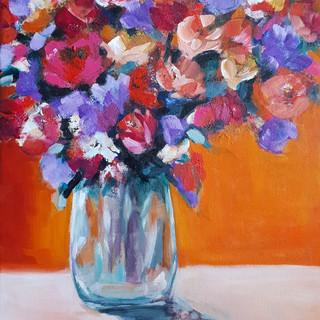 Flowers 40x50 cm