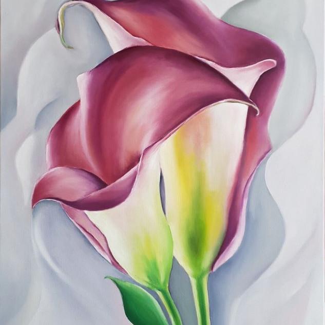 Lillies 50x70