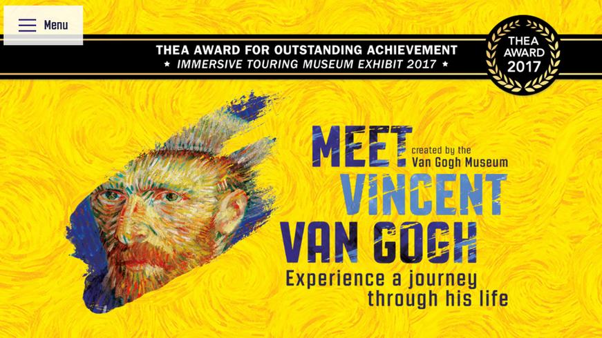 Meet Vincent Van Gogh 4D Experience