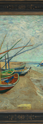 圣玛利岸边的渔船