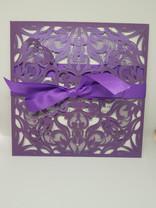 Purple 4 Way Fold