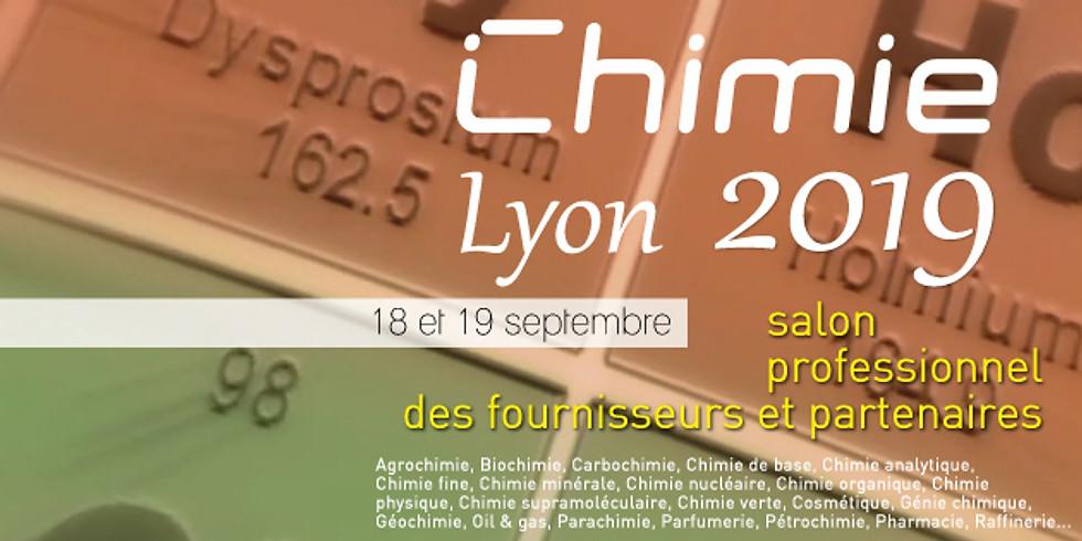 Chimie Lyon 2019, le cœur de toutes chimies